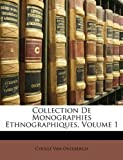 Collection de Monographies Ethnographiques, Cyrille Van Overbergh, 1147941807