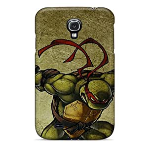 AlissaDubois Samsung Galaxy S4 Protector Hard Phone Cases Provide Private Custom Fashion Ninja Turtles Skin [EjY18204XyyO]