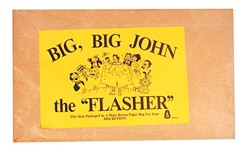(Men's Costume: Naughty Big, Big John the Flasher- One)