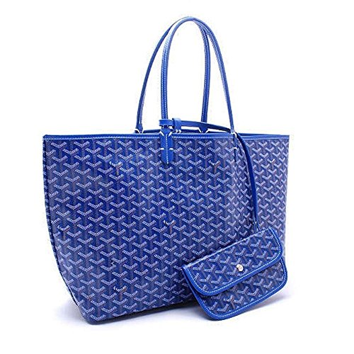 skoren-women-fashion-pu-leather-shoulder-bags-tote-bag-purse-with-small-walletblue