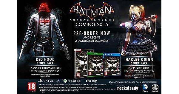 Batman: Arkham Knight - Harley Quinn + Red Hood Edition (Xbox One ...