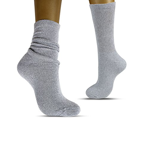 Sox Express Mens Crew Socks -  Everyday Work Crew Socks with Comfort Toe Seam - Black Pack of 6 Sox Pack
