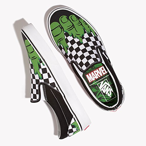 Hulk Unisex Checkerboard Erwachsene Vans Marvel Sneakers AUTHENTIC 0fq8X