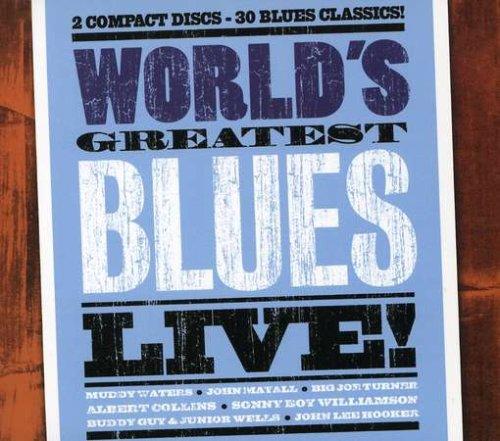 World's Greatest Blues - Live [2 CD]