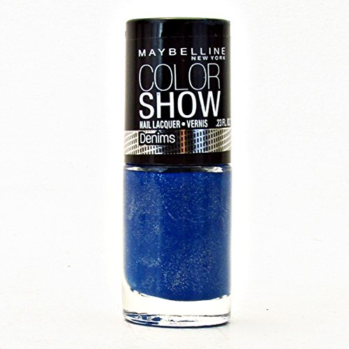 Dash Denim - Maybelline Color Show Nail Lacquer - Denim Dash - 0.23 oz