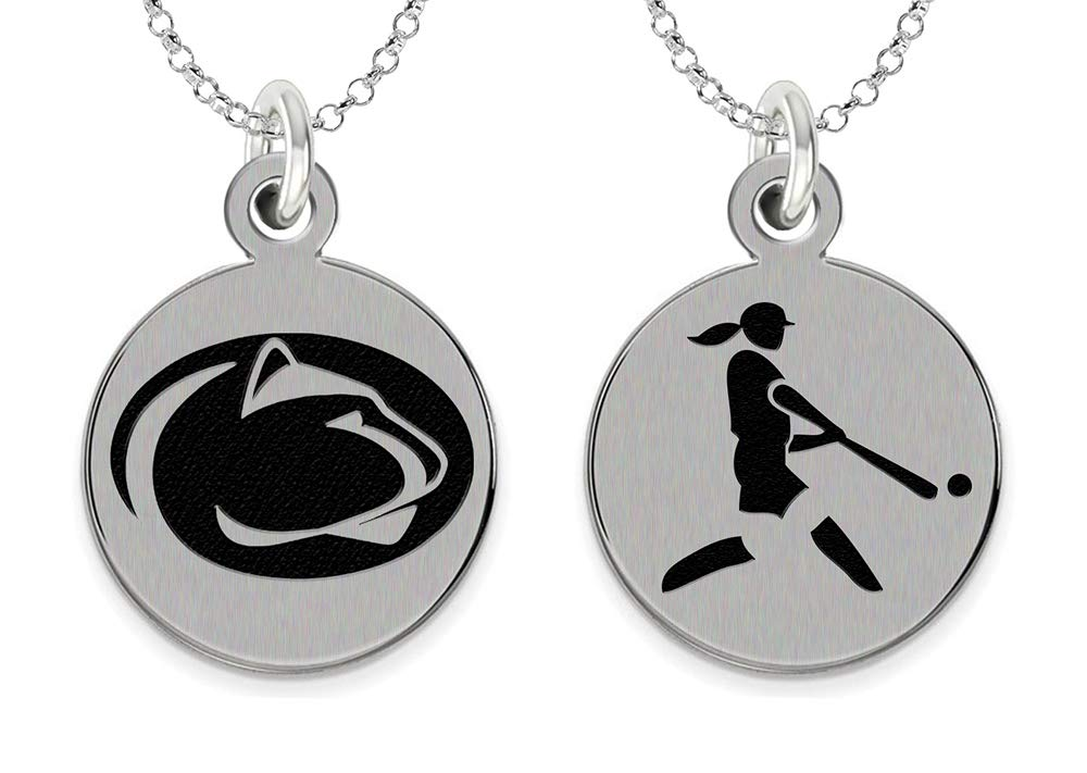 College Jewelry Penn State University Softball Charm