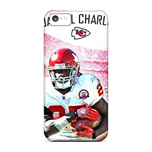 CharlesPoirier Iphone 5c Shockproof Hard Cell-phone Cases Customized High Resolution Kansas City Chiefs Pattern [iGe16294ptYK]