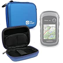 DURAGADGET Premium Quality Blue Hard EVA Shell Case with Carabiner Clip & Twin Zips for NEW Garmin eTrex 30x Handheld GPS Unit