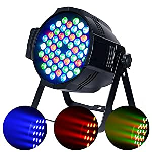 Betopper par lights 54x3w led dj par stage light rgbw for 1234 dance floor