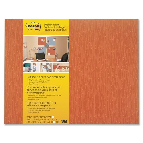 Wholesale CASE of 10 - 3M Post-it Cut-to-Fit Display Boards-Cut-To-Fit Office Display Board, 18''x23'', Tang