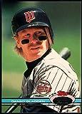Baseball MLB 1991 Stadium Club #54 Dan Gladden #54 NM Near Mint Twins