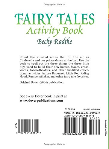 Fairy Tales Activity Book (Dover Little Activity Books) (Vol i)