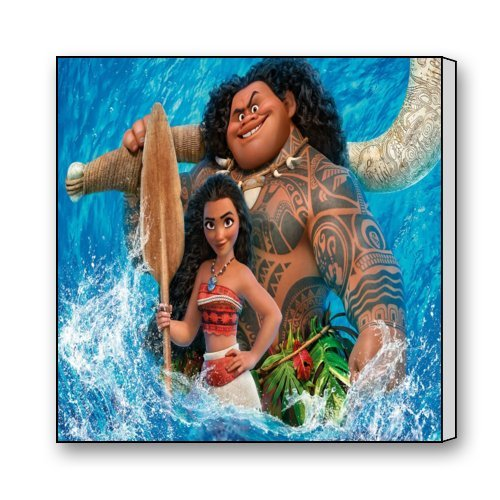 "Scottshop Custom Moana Animation Canvas Prints 16""x 16"" Inch - Modern Canvas Wall Art Print Home Decor Wall Artwork"