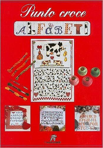 Amazonit Punto Croce Alfabeti Aavv Libri