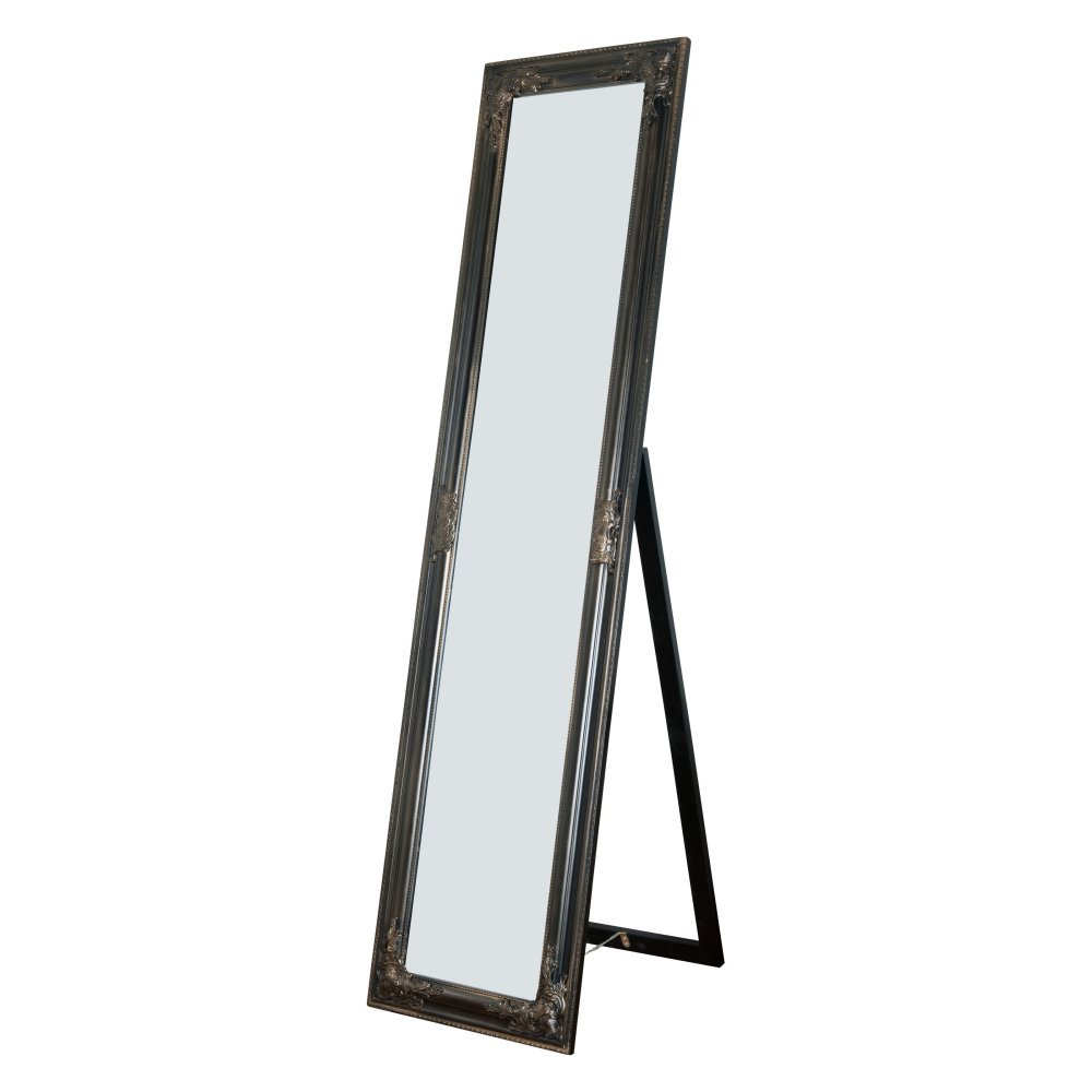 Milton Greens Stars Alexandria Wooden Standing Mirror with Decorative Design, Copper