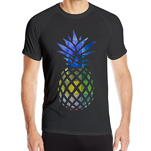 XianNonG Color Of Pineapple Men's Fashionable Sport Short Sleeves L - East Lansing Mall Mi In
