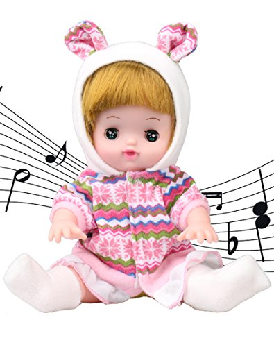Musical Newborn Doll (10〞Alive Baby Girl Doll-Musical princess doll With Open/Close Eyes . The Best Gift)