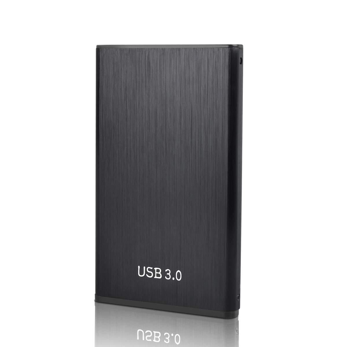 Wii U pour Mac 2.5 1To Disque Dur Externe USB3.0 SATA Stockage HDD pour PC Ordinateur de Bureaup Xbox,ps4 Ordinateur Portable