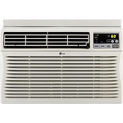 LG 8,000 BTU Window-Mounted Air Conditioner with Remote Control (115 volts) - LW8012ER