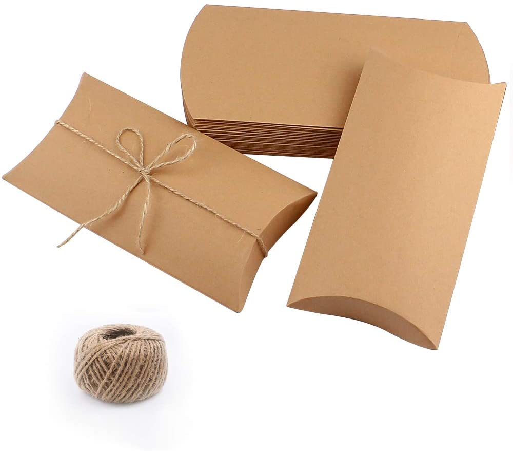 1 SMALL BLACK PILLOW BOX WEDDING FAVOURS JEWELLERY GIFTS