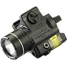 Streamlight 69245 TLR-4 Compact Rail Mounted Tactical Light with Integrated Green Laser and Wide Operating Range