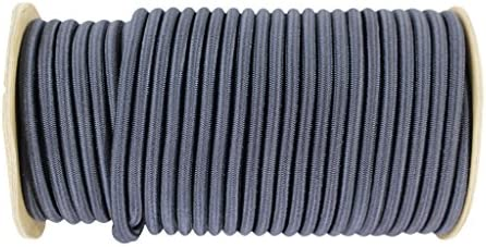 DIY Projects Moisture SGT KNOTS 100 feet - Black Outdoor Marine Grade Dacron Polyester Bungee Indoor Shock Cord 1//8 Inch Tie Downs Commercial 100/% Stretch Weather Resistant UV