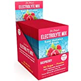 Electrolyte Mix Supplement Powder, 72 Trace Minerals, Potassium, Sodium, Electrolyte Replacement Sports Drink | Raspberry 30 Packets | Dr. Price's Vitamins, No Sugar, Keto, Vegan, Non-GMO, Gluten-Free