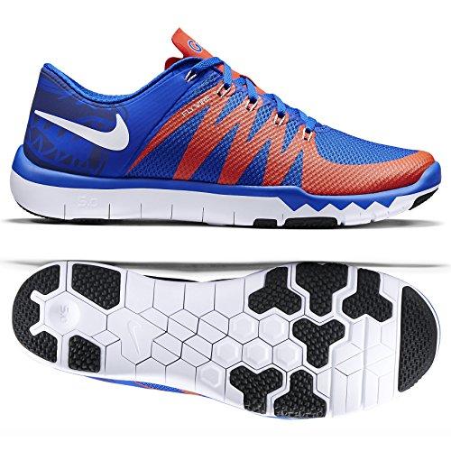 Nike Free Trainer 5.0 V6 AMP Florida Gators 723939-481 Royal/Team Orange Men's Shoes