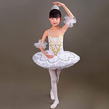 JIE. Ballet Danza Traje-niños Ballet Trajes Poco Cisne Danza ...