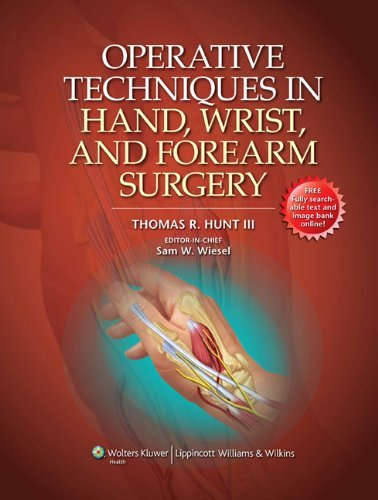 Operative Techniques in Hand, Wrist, and Forearm Surgery Pdf