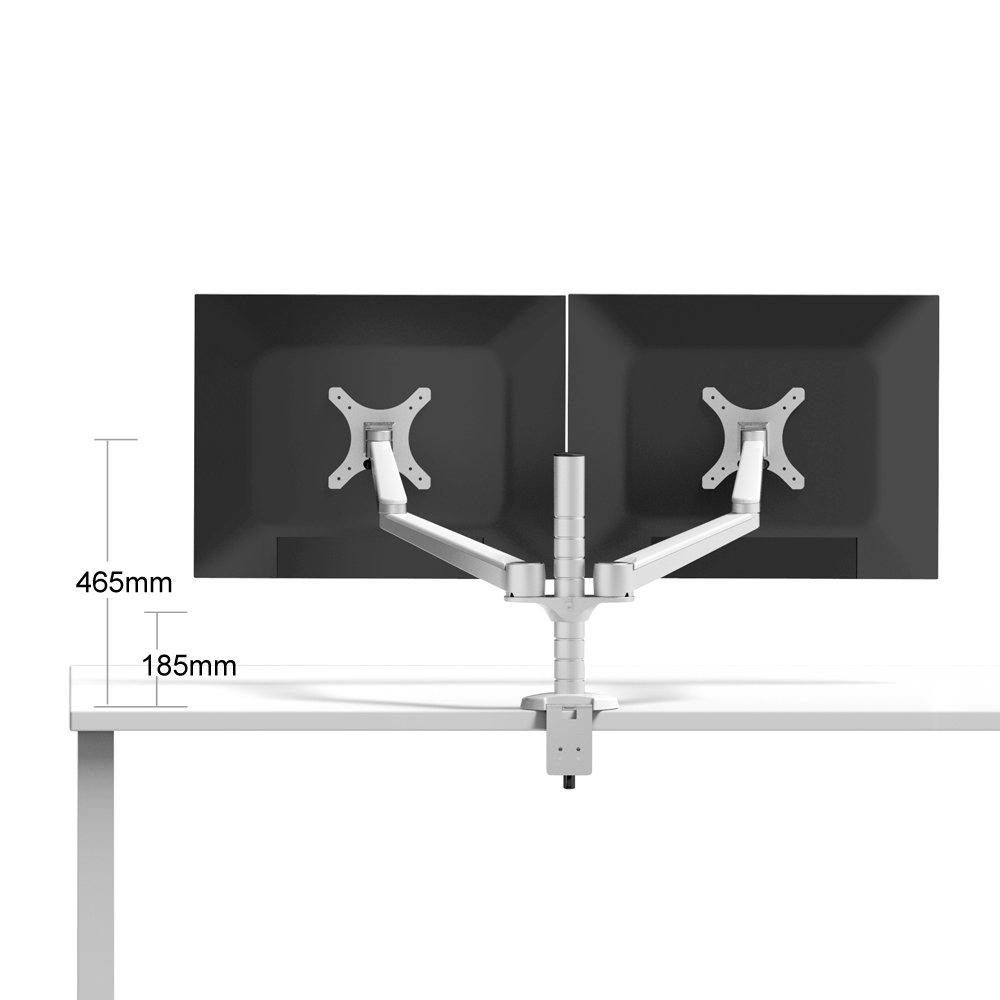 Opus 2 44 -5 cm Moniteur Bras pour moniteur Double 75–100 mm avec adaptateur