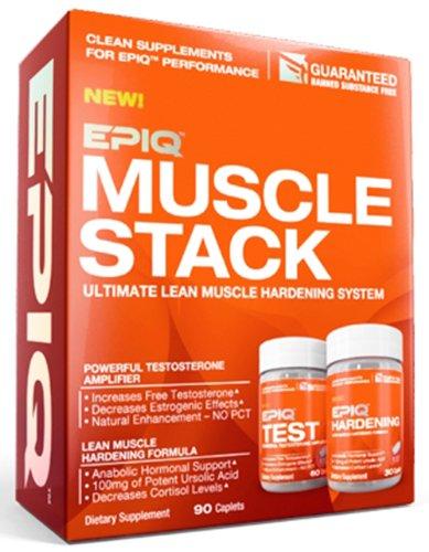 EPIQ - Muscle Stack Renforcement du système musculaire maigre Ultimate - 90 gélules
