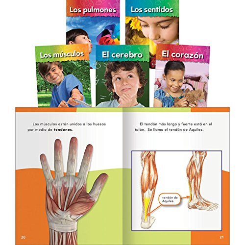 (Teacher Created Materials - Classroom Library Collections: The Human Body - 5 Book Set - Grades K-2 - Guided Reading Level A - J)