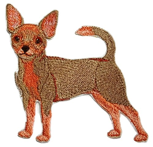 Amazing Custom Dog Portraits[Chihuahua] Embroidered Iron On/Sew patch [4.5