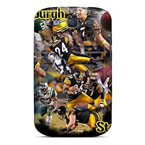 Hard Plastic Galaxy S3 Cases Back Covers,hot Pittsburgh Steelers Cases At Perfect Customized