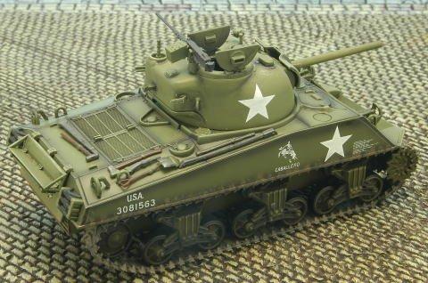 1/48 M4A3 シャーマン戦車75mm砲搭載型 HG1001