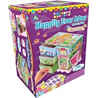 The Orb Factory Sticky Mosaics Kit Happily Ever After Jewelry Box WLM