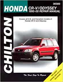 honda odyssey service manual free download