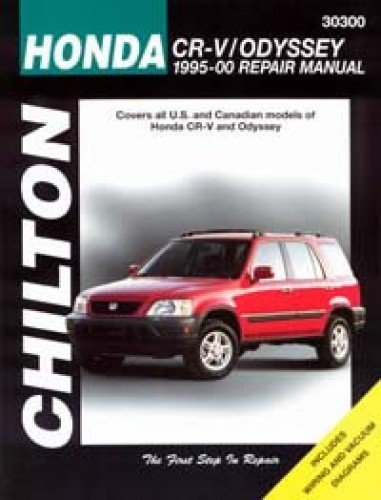 CH30300 Chilton Honda CR-V Odyssey 1995-2000 Automotive Service Manual (Honda Crv 1998 Book compare prices)