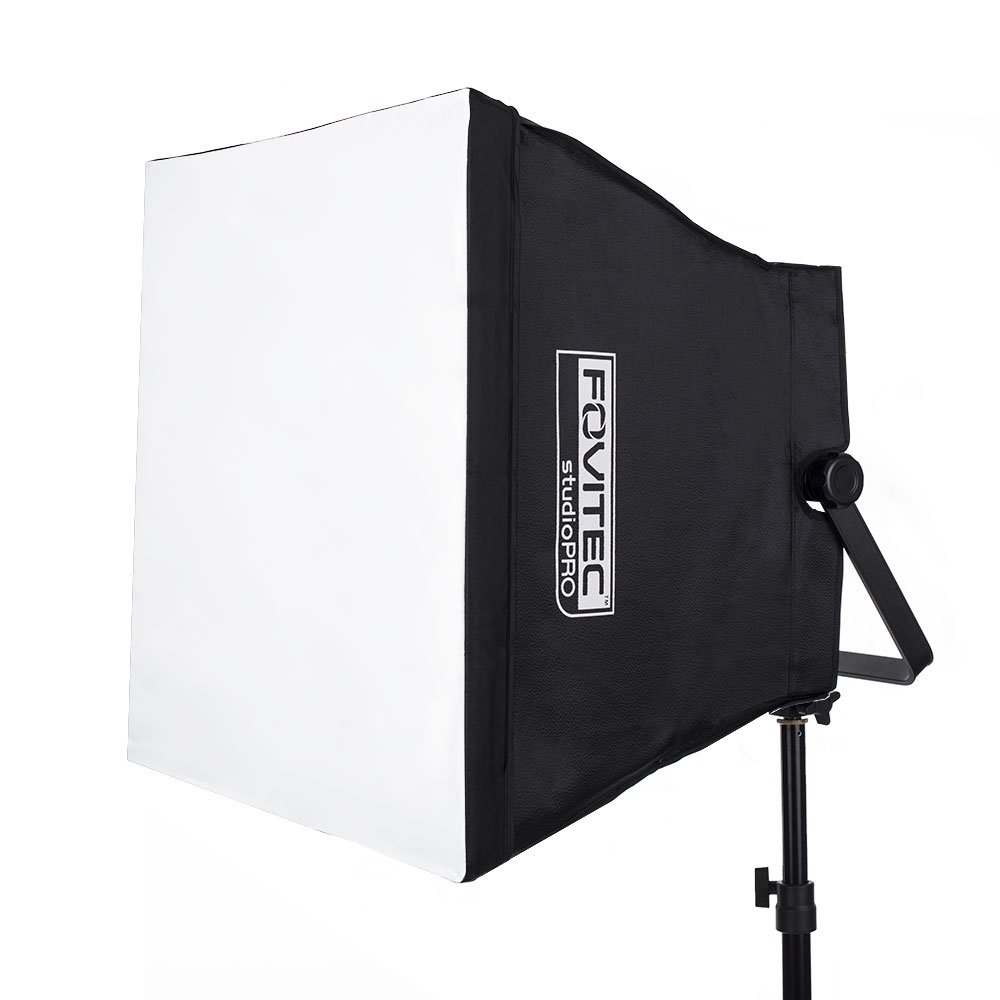 Fovitec - 1x 600 Series LED Panel Softbox Light Modifier - [Collapsible][Light Sold Separately]