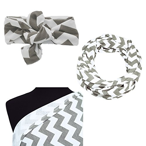 itzy-ritzy-nursing-happens-infinity-breastfeeding-scarf-cgrey-chevron-matching-top-knot-for-baby