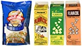 Gold Medal Products 2045 Flavacol Seasoning & Popcorn Salt Assortment