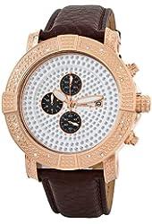"JBW Men's JB-6115L-E "" Gotham"" Chronograph Pave Dial Diamond Watch"