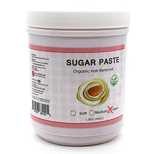 Sugaring-Paste-Hard-45oz-For-Thick-Hair-Bikini-Brazilizn-Underarms