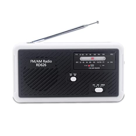 Amazon.com: Younar Radio portátil de emergencia con cargador ...