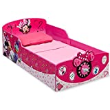 Cheap Delta Children Interactive Wood Toddler Bed, Disney Minnie Mouse