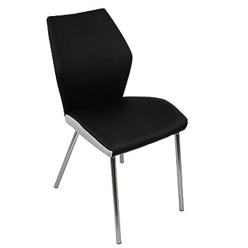 Loungesessel Stuhl Küchenstuhl Rot Verona
