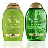 Ogx ~ Bamboo Fiber-Full Shampoo and Conditioner Set, 13oz each~