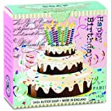 Michel Design Works Little Soap, Birthday Cake, 3.5 Ounce