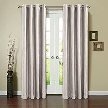 Amazon.com: Balichun 2 Panels Blackout Curtains Thermal Insulated ...
